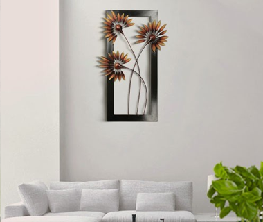 Wall Decor With Wooden Frame